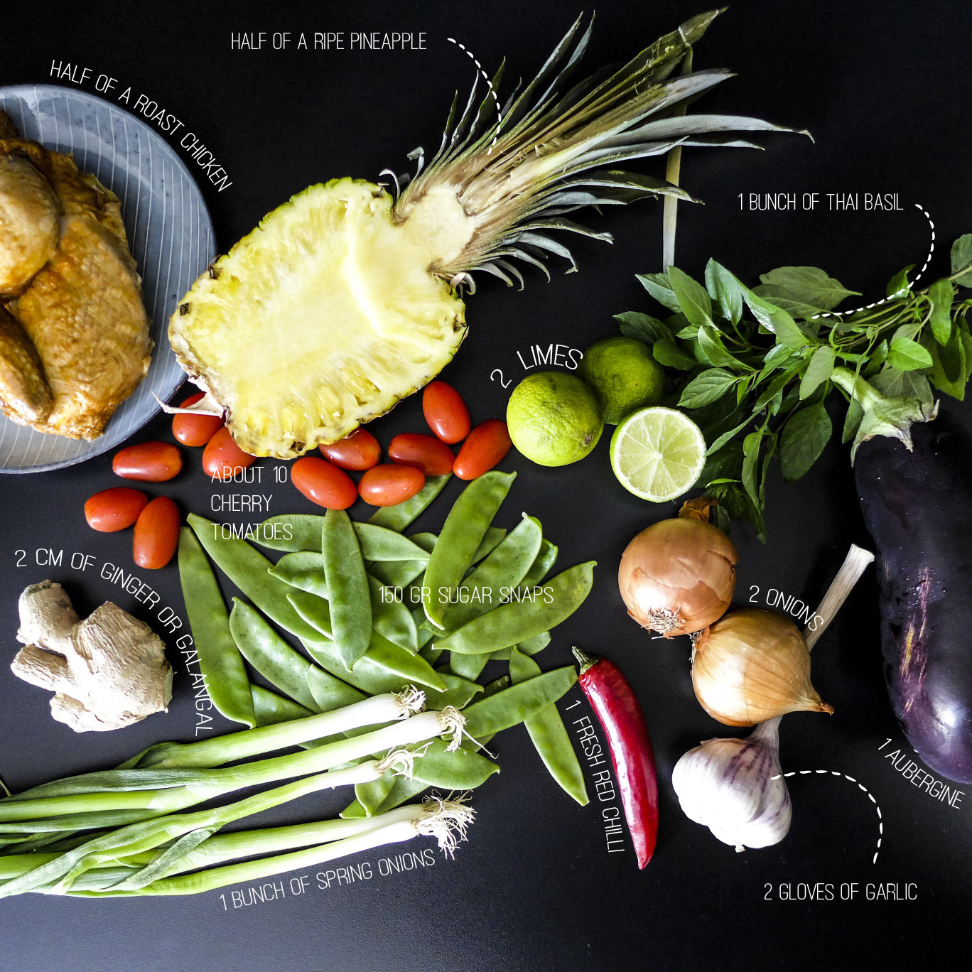 fruity thai curry_main ingredients