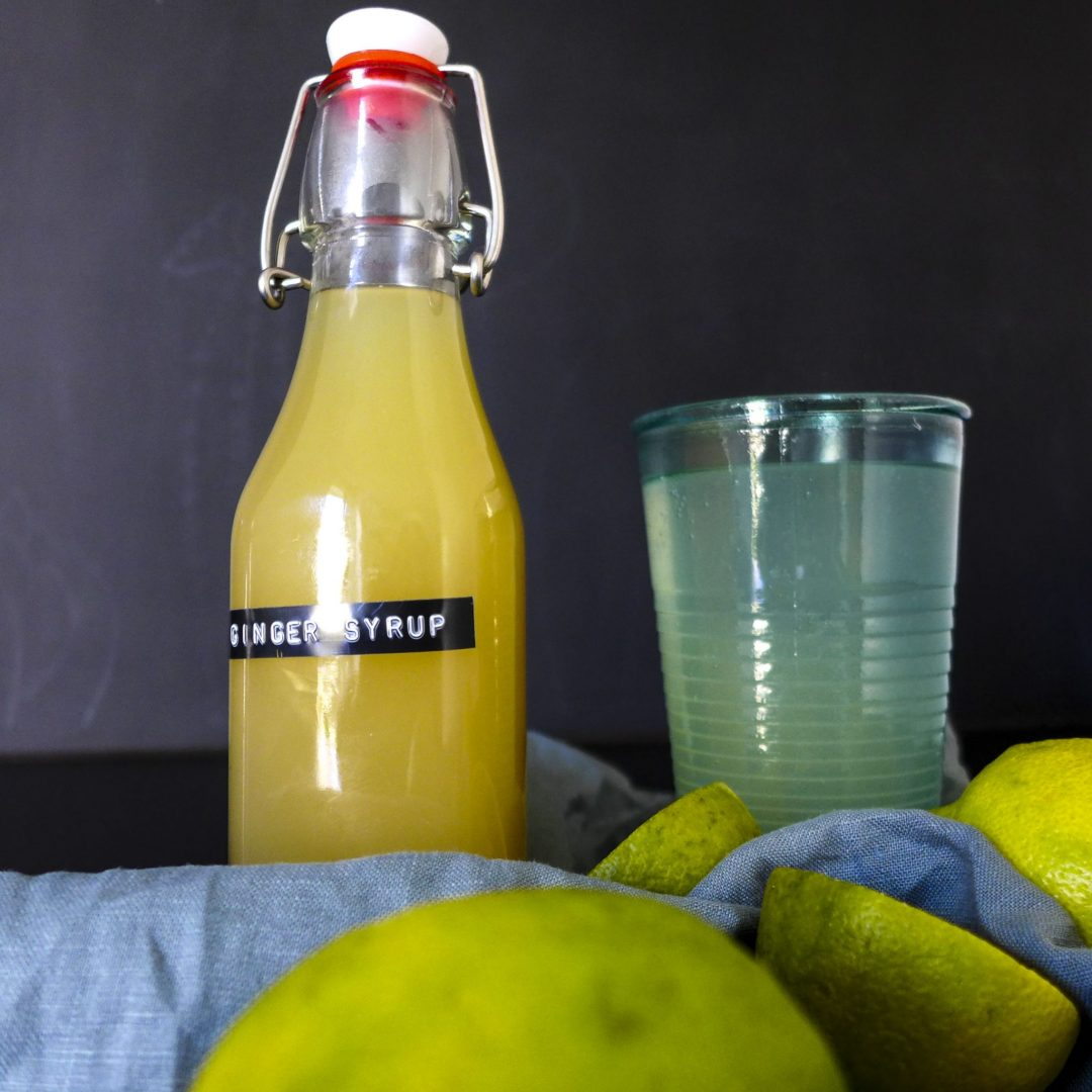 Ginger and Lemon Syrup